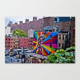 Radiant Canvas Print