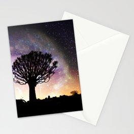 African galaxy skyline - Landscape Photography #Society6 Stationery Cards