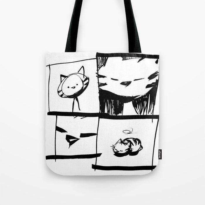 minima - IA - catnap Tote Bag