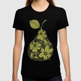 Flower Pear Silhouette T-shirt