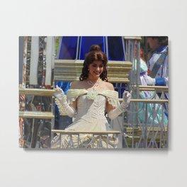 Belle at Walt Disney World's Magic Kingdom Metal Print