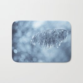 Winter leaf Bath Mat