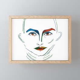 The warrior Exists in You Framed Mini Art Print