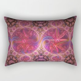 Decorative artwork with amazing curls, swirls and patterns Rectangular Pillow