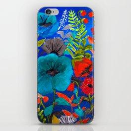 Blue Garden iPhone Skin