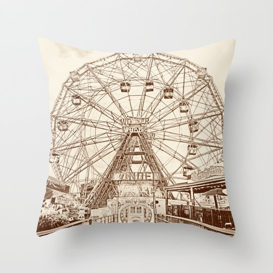 Ever Wonder Throw Pillow