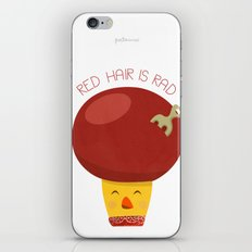 Red Hair is Rad iPhone Skin
