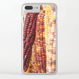 Indian corn 5 Clear iPhone Case