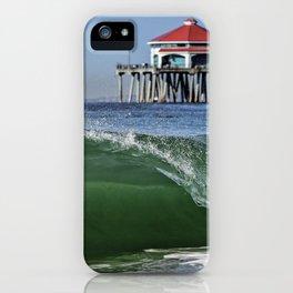 Surf City Shore-break & Ruby's Diner iPhone Case