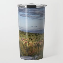 Mountain foliage in NH  Travel Mug