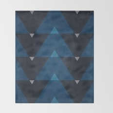 Greece Arrow Hues Throw Blanket