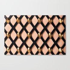 Pink Net Canvas Print
