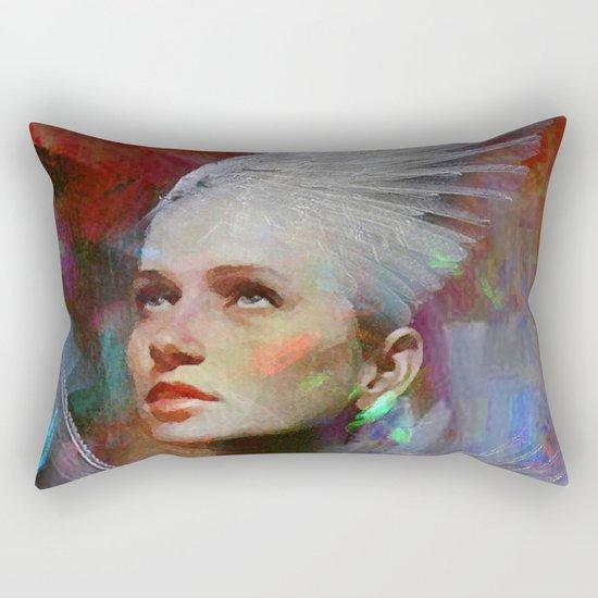 Guard of souls Rectangular Pillow