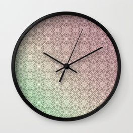 Gradient, ornament 2 Wall Clock