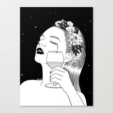 Cheers for tears Canvas Print