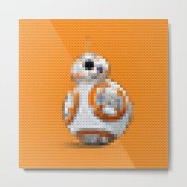BB8 - Legobricks Metal Print