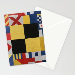Nautical L Stationery Cards