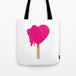 My heart is melting Tote Bag