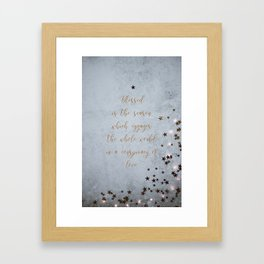 Conspiracy of love - Christmas Collection Framed Art Print