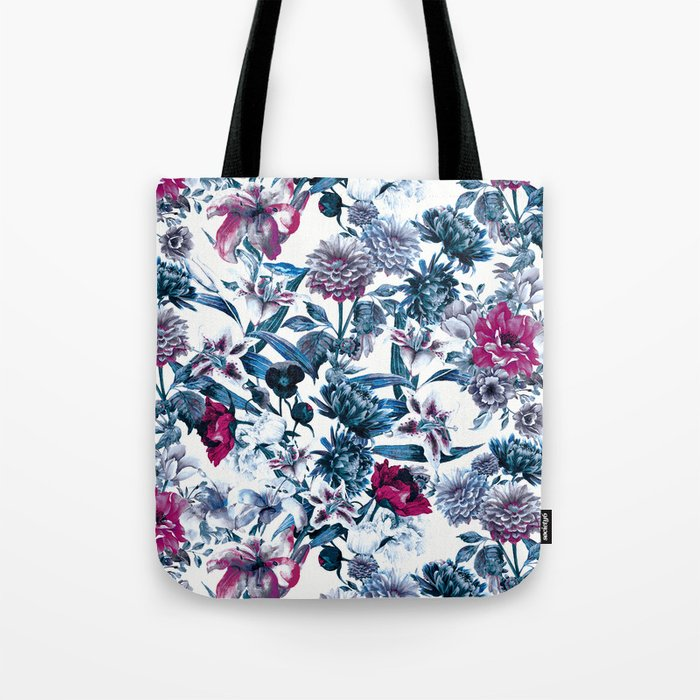 RPE FLORAL BLUE II Tote Bag
