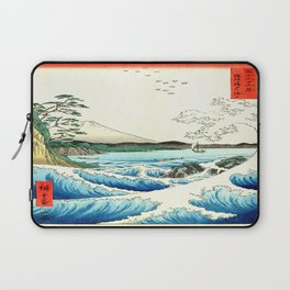 The Great Wave. The Sea At Satta Laptop Sleeve