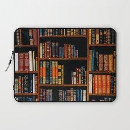 The Bookshelf (Color) Laptop Sleeve