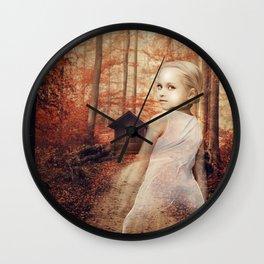 Lucy Keyes Wall Clock