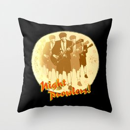 Night Prowlers! Throw Pillow