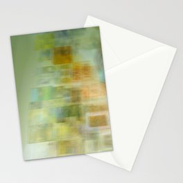 Blurred Boundaries Stationery Cards