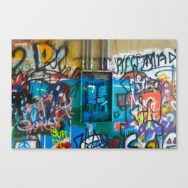 Electronic Sterephonic Canvas Print
