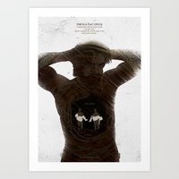 True Detective - The Secret Fate Of All Life Art Print