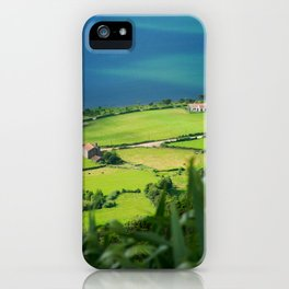 Sete Cidades crater iPhone Case