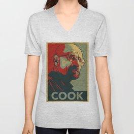 Walter White - The Cook Unisex V-Neck