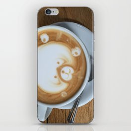 Cute Latte iPhone Skin