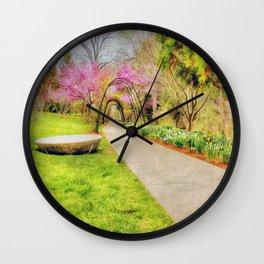 Beautiful Spring Wall Clock
