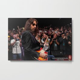 Ace Frehley May 2018 Metal Print