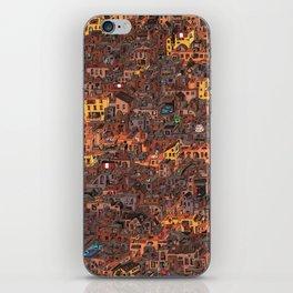 Gold Favela iPhone Skin