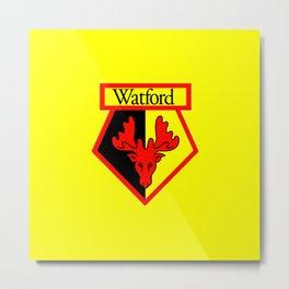 WATFORD FC Metal Print