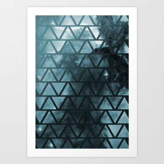 Galactic2 Art Print
