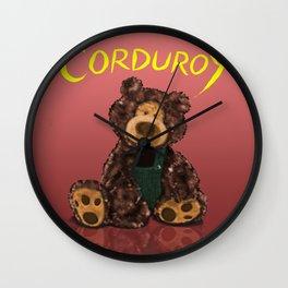 Corduroy Wall Clock