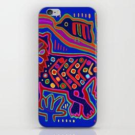 San Blas Island Kuna Tiger iPhone Skin