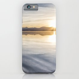 Sunset at Agency Lake, No. 1 iPhone Case