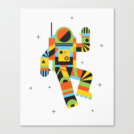 Hello Spaceman Canvas Print