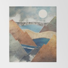 Mountain Pass Throw Blanket