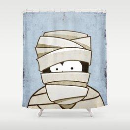 Mummified Shower Curtain