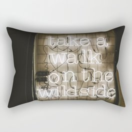 Take a Walk on the Wild Side Rectangular Pillow