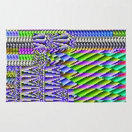 Glitch Pattern Rug
