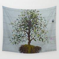 dublin Wall Tapestries featuring Dublin Art by Ashley Callan