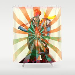 First Date Shower Curtain