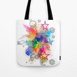 Color blobs by Nico Bielow Tote Bag